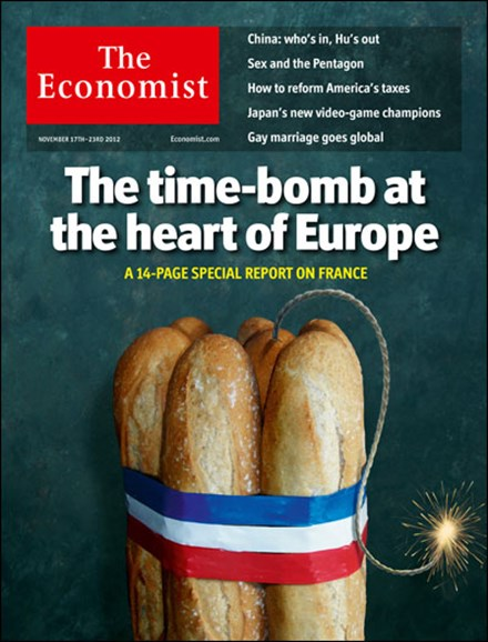 The Economist Cover - 11/17/2012