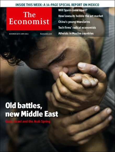 The Economist Cover - 11/24/2012