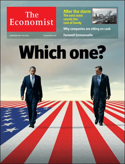 The Economist Cover - 11/3/2012