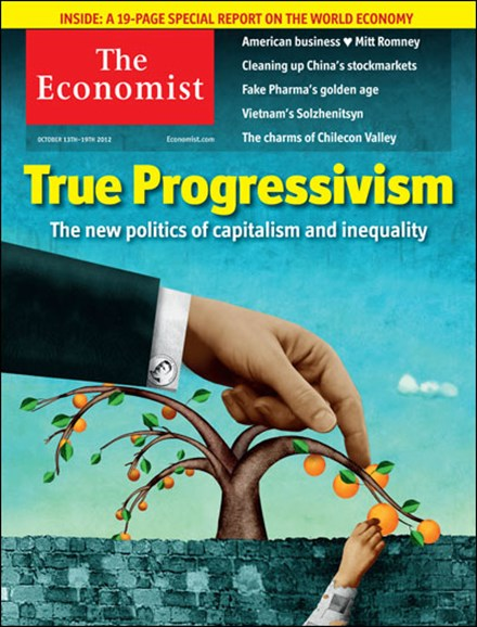 The Economist Cover - 10/13/2012