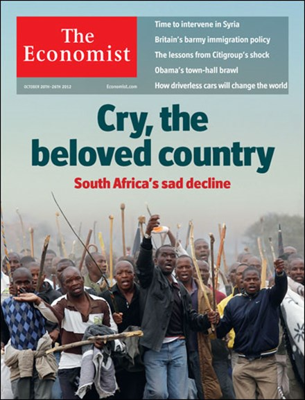The Economist Cover - 10/20/2012