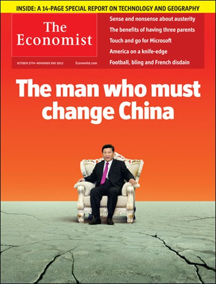 The Economist Cover - 10/27/2012