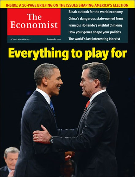 The Economist Cover - 10/6/2012