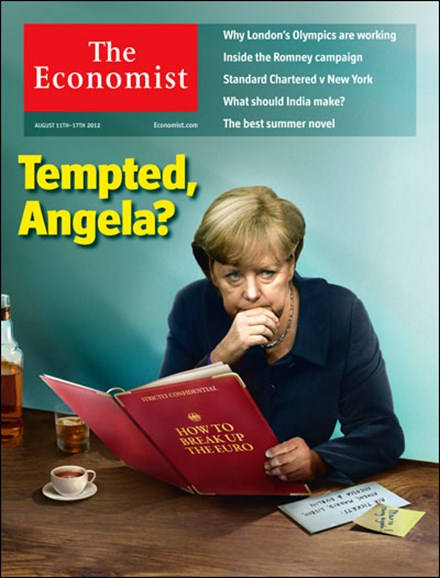 The Economist Cover - 8/11/2012