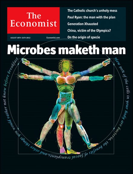 The Economist Cover - 8/18/2012