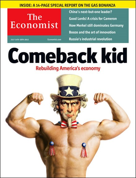 The Economist Cover - 7/14/2012