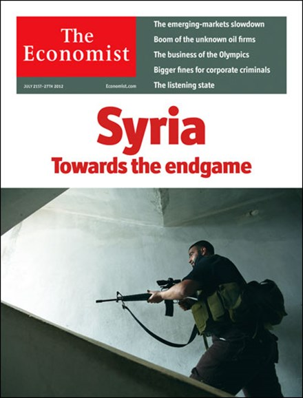 The Economist Cover - 7/21/2012