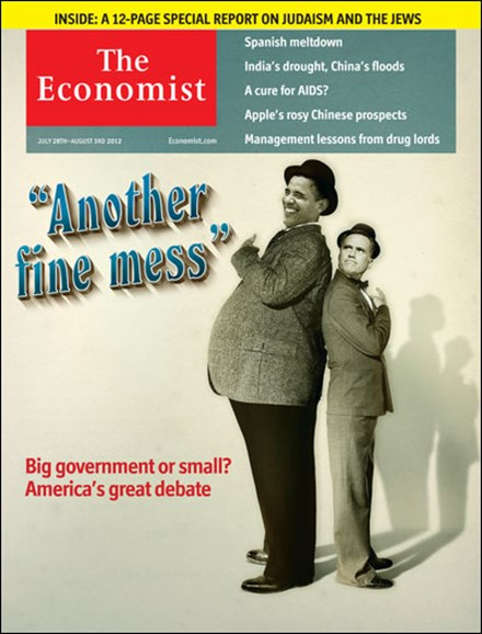 The Economist Cover - 7/28/2012