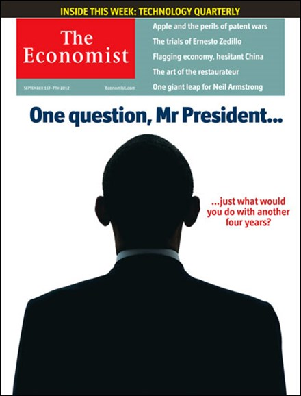 The Economist Cover - 9/1/2012