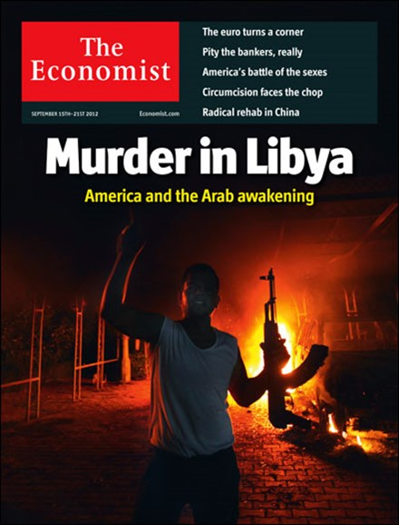 The Economist Cover - 9/15/2012