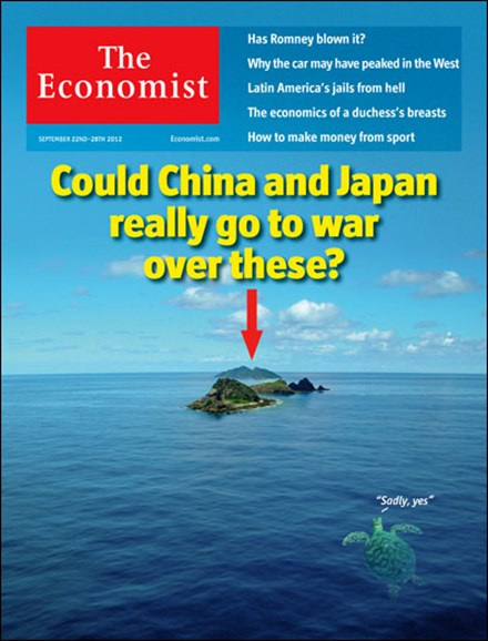 The Economist Cover - 9/22/2012