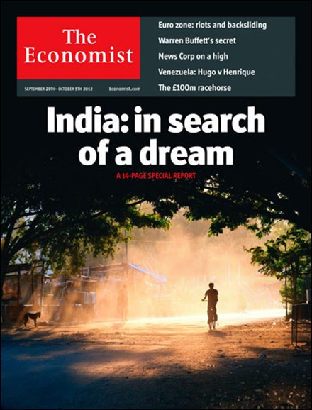 The Economist Cover - 9/29/2012