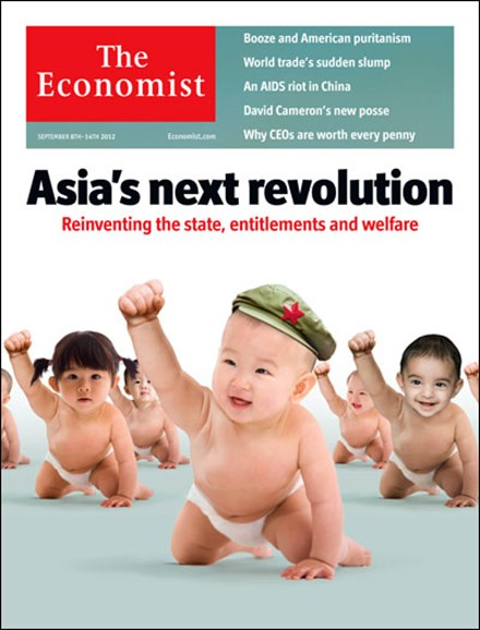 The Economist Cover - 9/8/2012