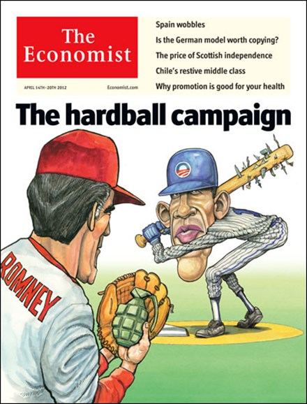 The Economist Cover - 4/14/2012