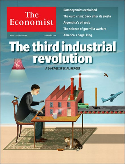 The Economist Cover - 4/21/2012