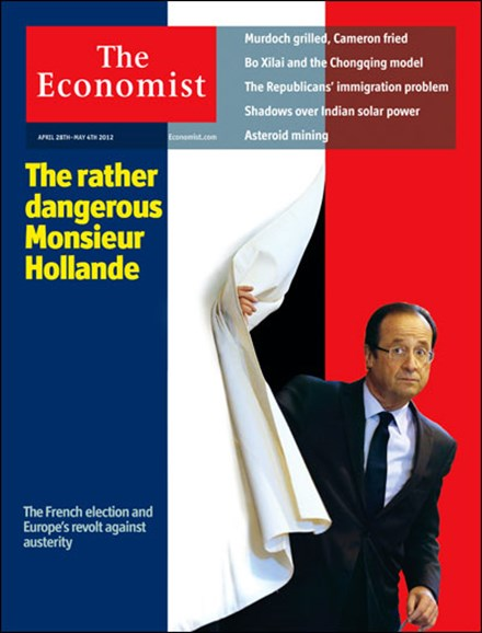 The Economist Cover - 4/28/2012