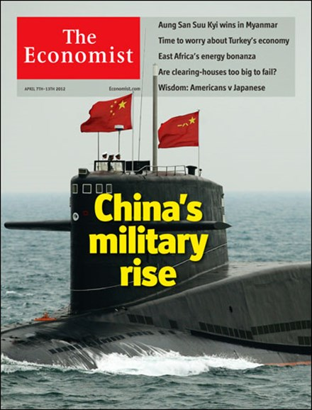 The Economist Cover - 4/7/2012