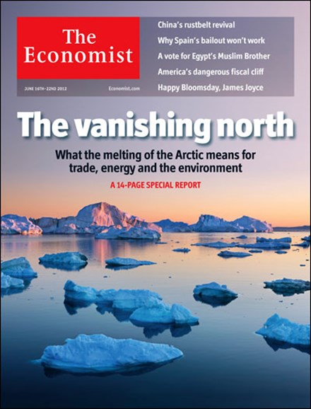 The Economist Cover - 6/16/2012