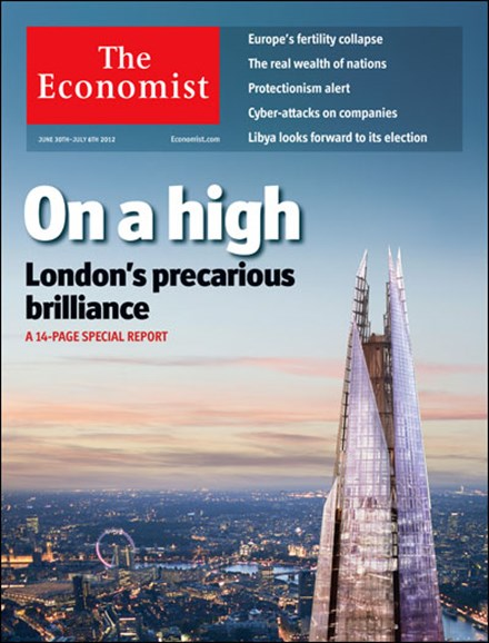 The Economist Cover - 6/30/2012