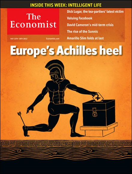The Economist Cover - 5/12/2012