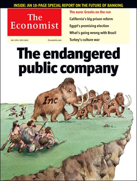 The Economist Cover - 5/19/2012