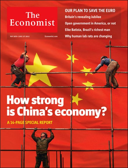 The Economist Cover - 5/26/2012