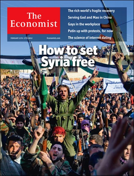 The Economist Cover - 2/11/2012
