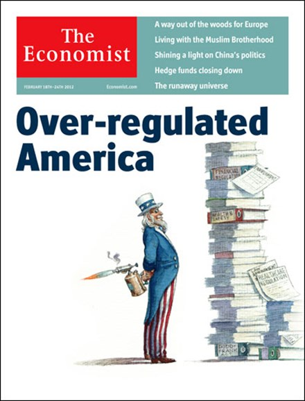 The Economist Cover - 2/18/2012