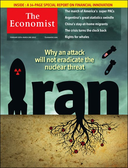 The Economist Cover - 2/25/2012