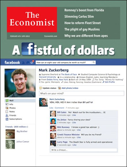 The Economist Cover - 2/4/2012