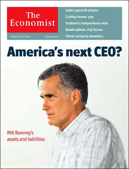 The Economist Cover - 1/14/2012