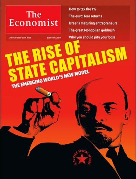 The Economist Cover - 1/21/2012