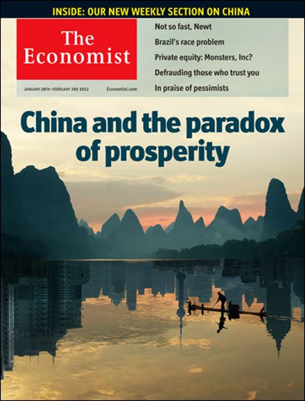 The Economist Cover - 1/28/2012