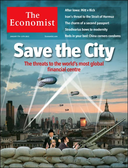The Economist Cover - 1/7/2012