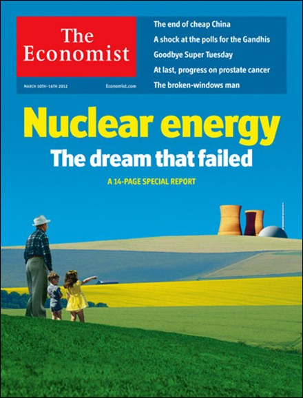 The Economist Cover - 3/10/2012