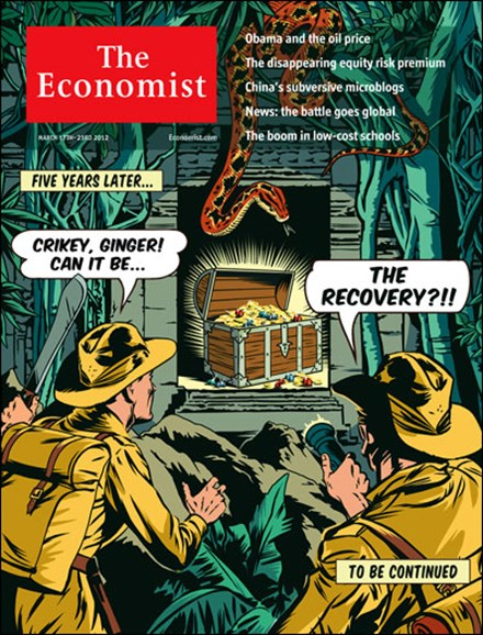 The Economist Cover - 3/17/2012