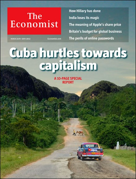 The Economist Cover - 3/24/2012