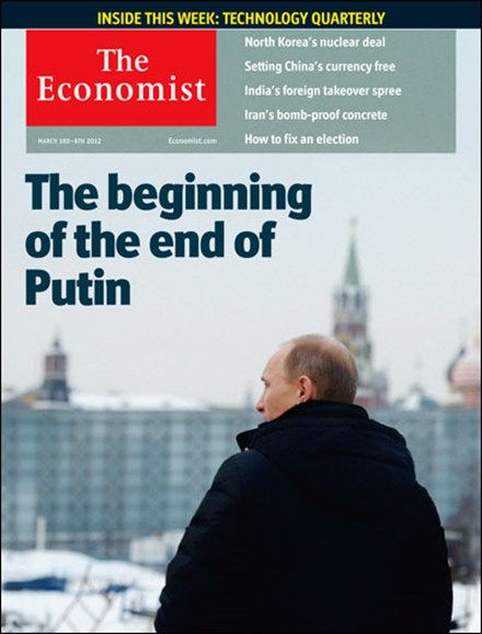 The Economist Cover - 3/3/2012
