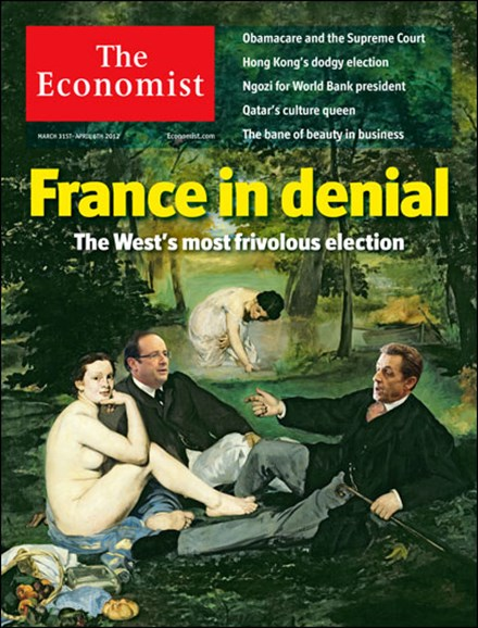 The Economist Cover - 3/31/2012