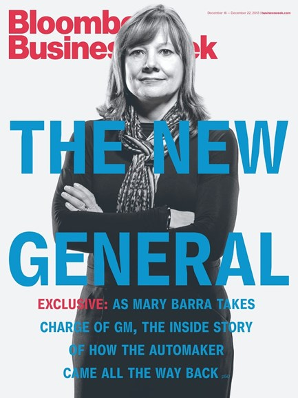 Bloomberg Businessweek Cover - 12/1/2013