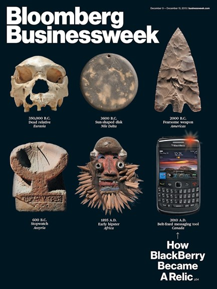 Bloomberg Businessweek Cover - 12/9/2013