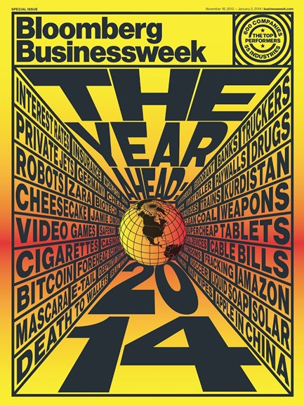 Bloomberg Businessweek Cover - 11/18/2013