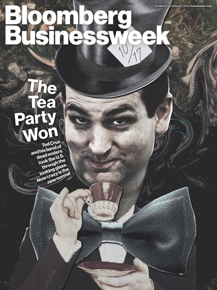 Bloomberg Businessweek Cover - 10/21/2013