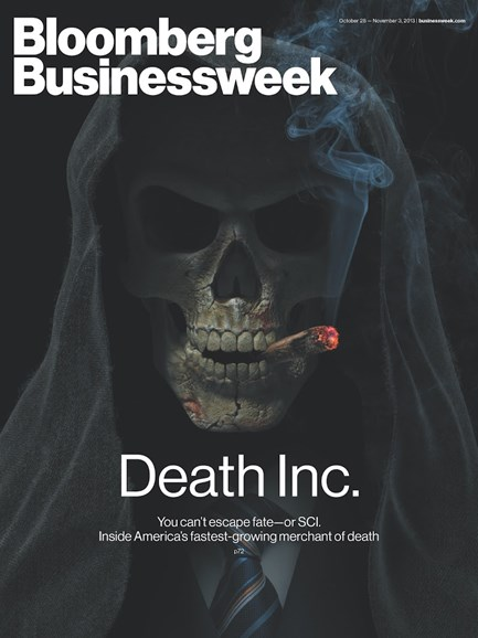Bloomberg Businessweek Cover - 10/28/2013