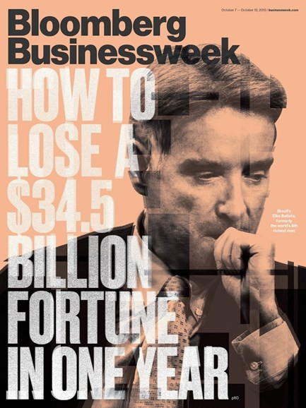 Bloomberg Businessweek Cover - 10/7/2013
