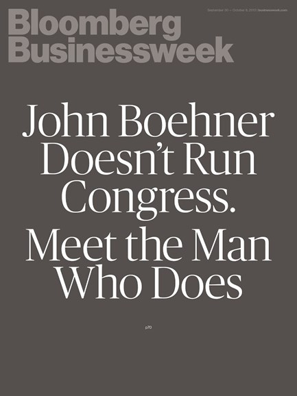 Bloomberg Businessweek Cover - 9/30/2013