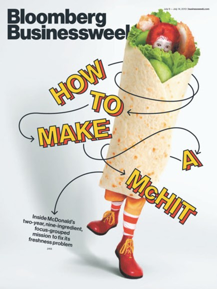 Bloomberg Businessweek Cover - 7/8/2013