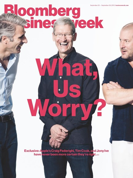 Bloomberg Businessweek Cover - 9/23/2013