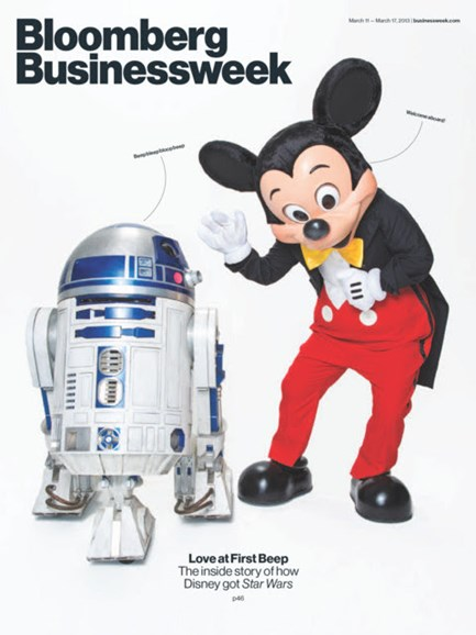 Bloomberg Businessweek Cover - 3/11/2013
