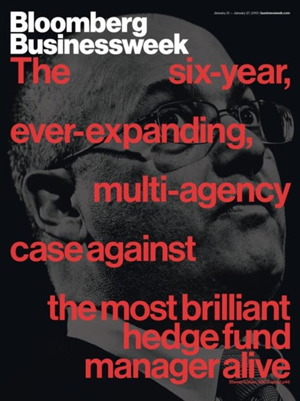 Bloomberg Businessweek Cover - 1/21/2013